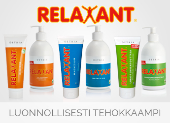 Detria Relaxant tuotesarja