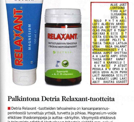 Relaxant Eeva 11 2016