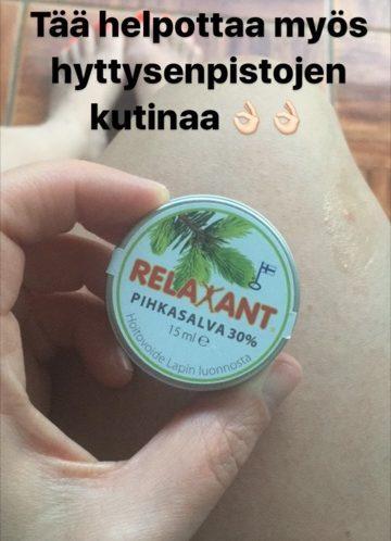 @kissisheini Relaxant Pihkasalva