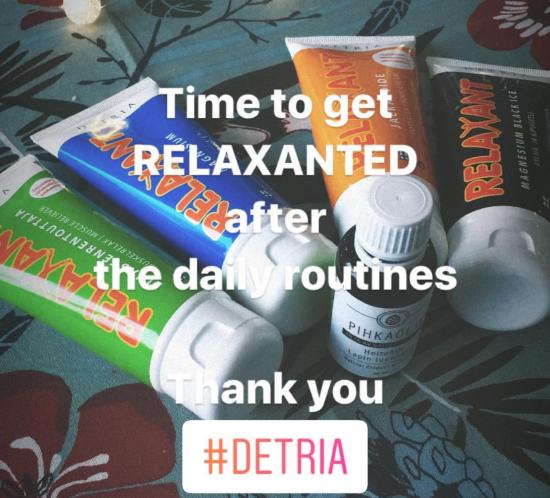 Relaxant rvaananen