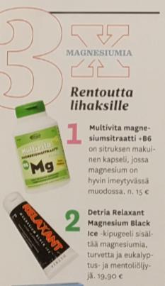 Kotilääkäri 3 2018 Relaxant Magnesium Black Ice 2