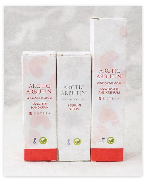 Karkkipäivä joulukuu 2015 Arctic Arbutin