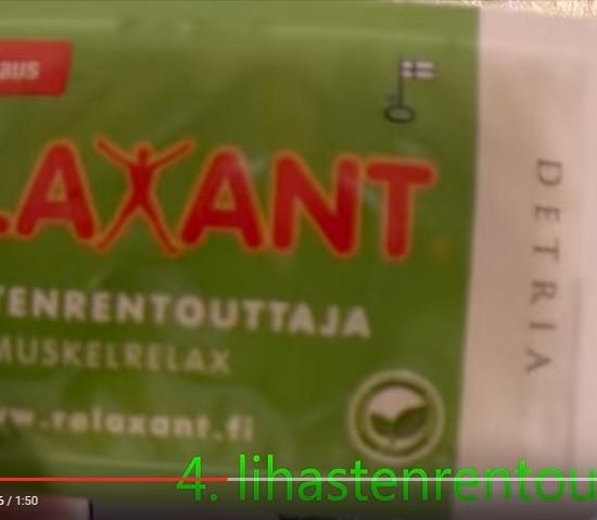 Sienna Kherry youtube marraskuu 2015 Relaxant Lihastenrentouttaja