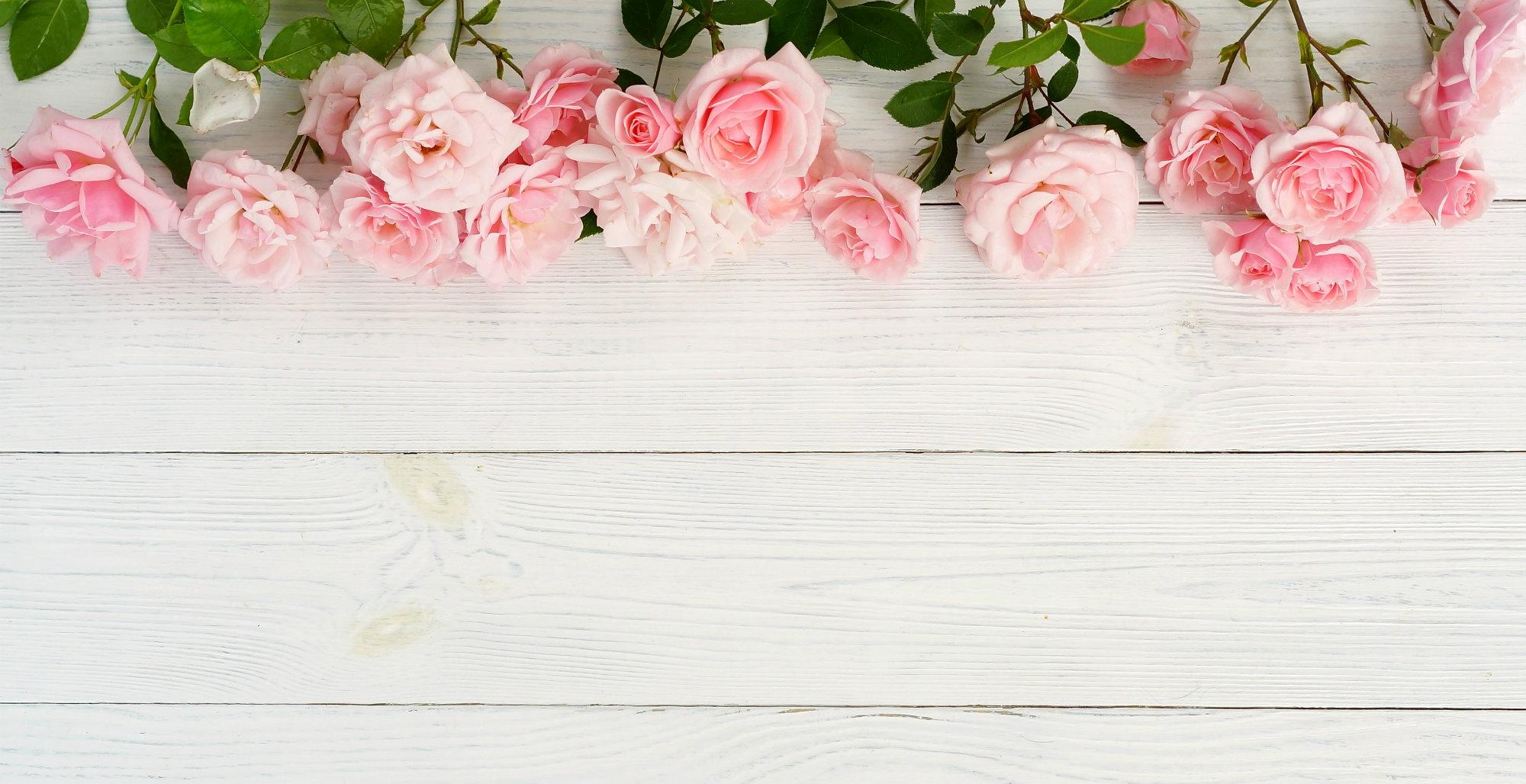 Pinkki ruusu lautatausta Detria.fi