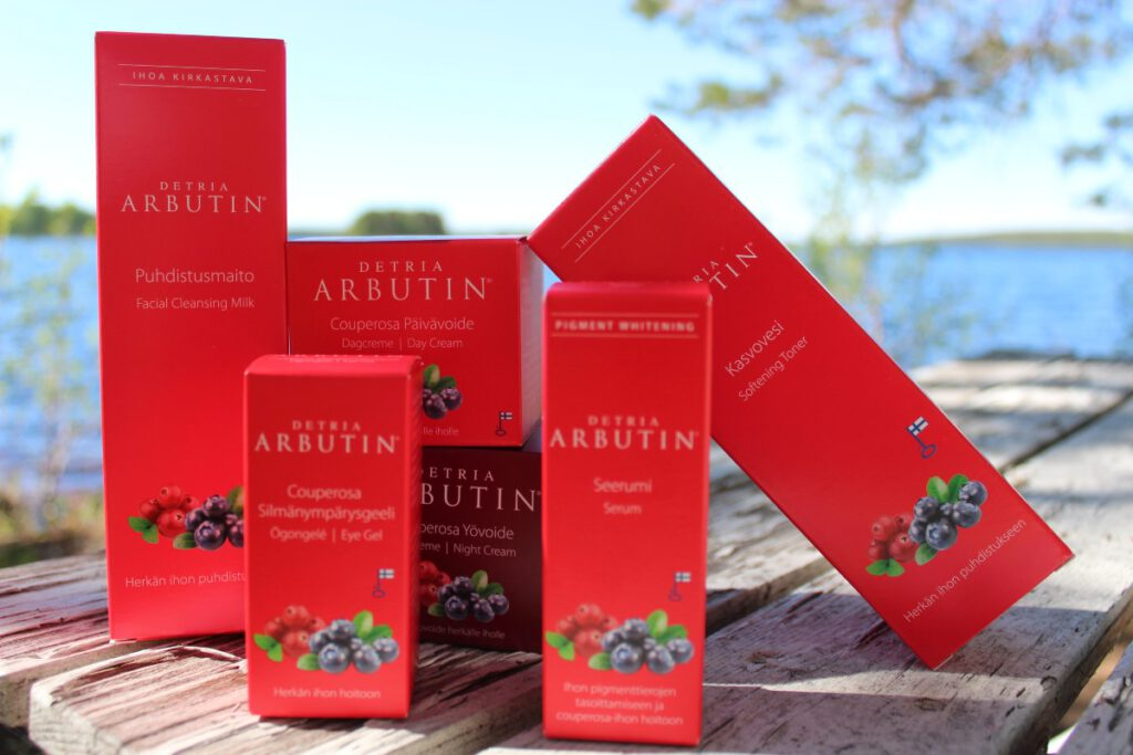 Cleansing products added to Detria Arbutin product line!